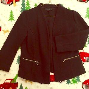Alfani  black open front jacket, Sz 6